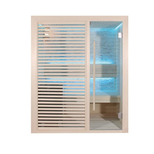 eo spa sauna b1410c licht populier 120x105 3kw eos bio mini online kaufen. Black Bedroom Furniture Sets. Home Design Ideas